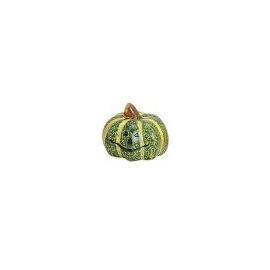 SMALL DECORATION PUMPKIN  5 X 5CM - GREEN