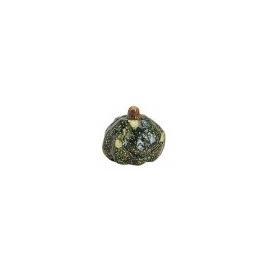 SMALL DECORATION PUMPKIN  5 X 5CM - DARK GREEN