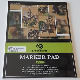 A4 MARKER PAD 24 SHEETS