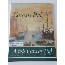 A4 CANVAS PAD 10 SHEETS
