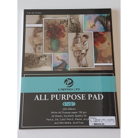 A4 ALL PURPOSE PAD 150GRMS, 24 SHEETS