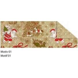 A4 VINTAGE CHRISTMAS CARDBOARD 300G - MOTIF 01
