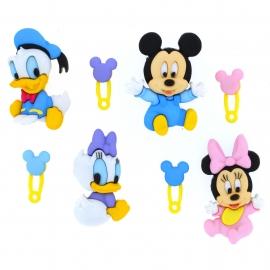 Dress It Up Buttons - Disney Babies
