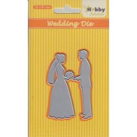 NELLIE'S - HOBBY SOLUTION DIE - WEDDING