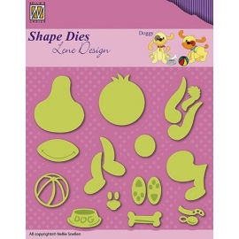 NELLIE'S - SHAPE DIES LENE DESIGN - DOGGY