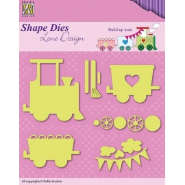 NELLIE'S - SHAPE DIES LENE DESIGN - BUILD-UP TRAIN