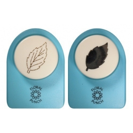2 SMALL MOTIF PUNCH - ROSE LEAF