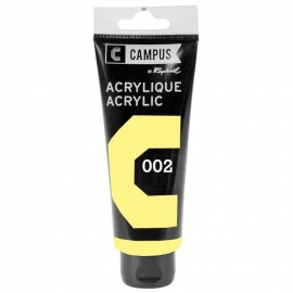 CAMPUS ACRYLIC PAINT 100ML - PASTEL YELLOW